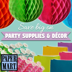Save Big on Party Supplies & Decor