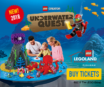 Underwater Quest at LEGOLAND® Discovery Center Michigan