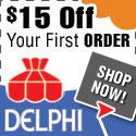 $15 OFF at DelphiGlass.com