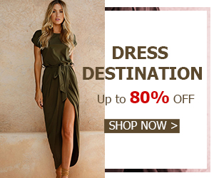Dress Destination ! Save Up to 80% OFF Hot Deals at Choies.com!