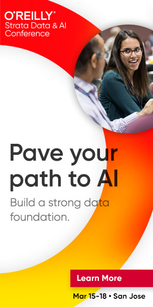 O'Reilly Strata Data & AI Conference 2020 in San Jose