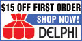 $15 Off at DelphiGlass.com