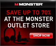 Save Up To 70% At The Monster Outlet Store Shop Now!