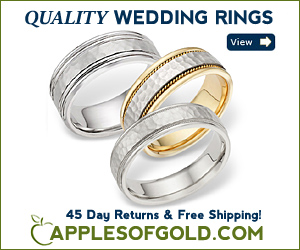 ApplesofGold.com - Wedding Rings