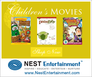 Children's Christian Movies make great gifts from NestEntertainment.com