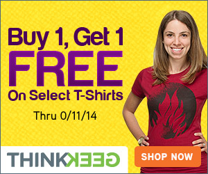 Buy One, Get One FREE Select T-Shirts