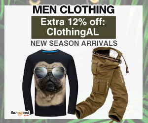 Extra 12% OFF For Men Clothing