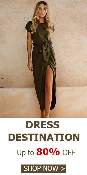 Dress Destination ! Save Up to 80% OFF Hot Deals at Choies.com!