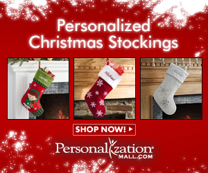 Personalized Stockings from PersonalizationMall.com