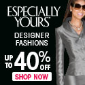 Women's Suits up to 40% OFF at Especially Yours