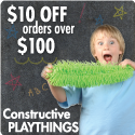 Constructive Playthings - Save $10 Today!