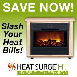 Save Now on Heat Surge