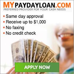Mypaydayloan.com