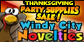 Thanksgiving Party Decorations and Supplies 120% Low Price Guarantee and Free Shipping w $69 order a