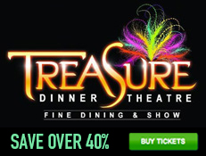 Treasure Tavern Dinner Show - Save 40%!