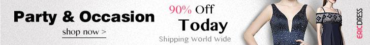 Ericdress Printing Evening Dress 85% Off