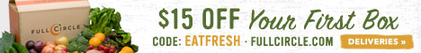 Organic Produce Fresh From Our Farm to Your Doorstep! Save $15 off your First Box at FullCircle.com!