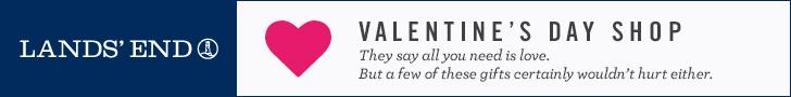 Lands' End Valentine's Day Shop