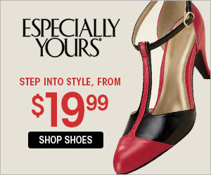 Step Into Style Shoes From $19.99 at Especially Yours
