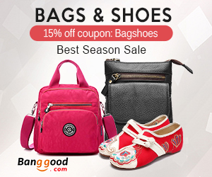 Extra 15% OFF For Bags & Shoes