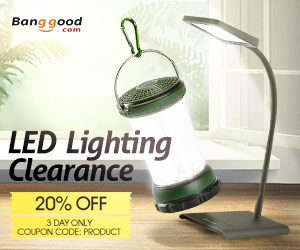 Extra 20% Off For Lights Clearance