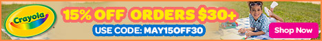 15% Off $30+ Orders with MAY15OFF30