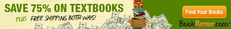Rent Textbooks and SAVE 75%