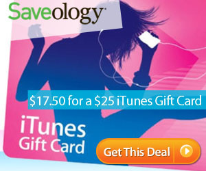 $25 iTunes GC for $17.50!