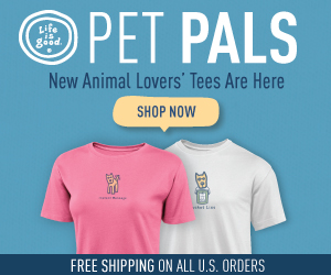 Life is good Pet Tees