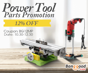 Extra 12% OFF For Power Tool Parts Promotion