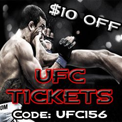 $10 OFF UFC Tickets