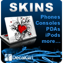 Sony PSP Skins by DecalGirl.com