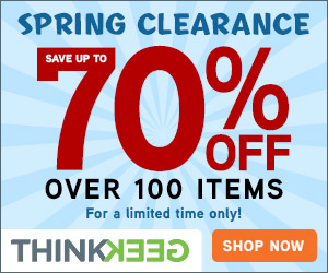 Spring Clearance - Save up to 70%