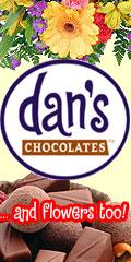 Dan's Chocolates ... and flowers too!