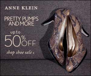 Anne Klein: Up to 50% off Shoes.