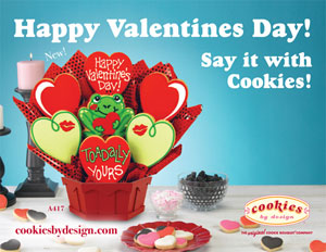 Happy Valentine's Day Say It With Cookies