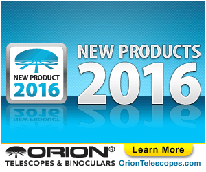 Orion's New Products for 2016!