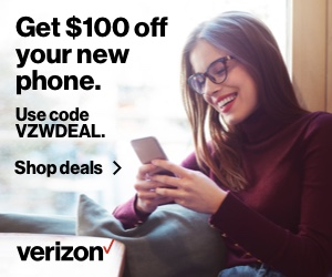 Get $100 off your new phone. Use code VZWDEAL
