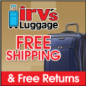 Irv's Luggage Warehouse -- FREE SHIPPING!