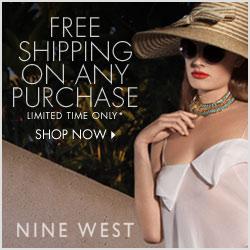 Free Shipping Nine West
