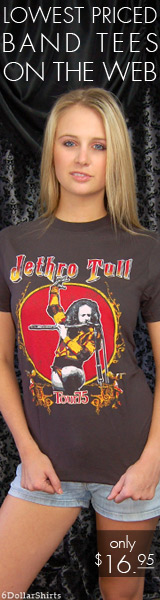 Jethro Tull Tour of 1975 $16.95!