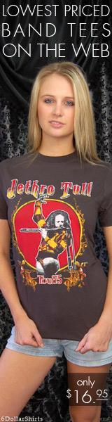 Jethro Tull Tour of 1975 $16.95!