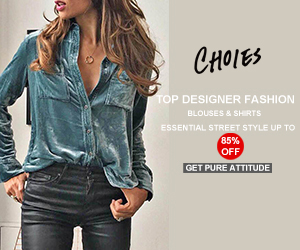 TOP DESIGNER FASHION  BLOUSES & SHIRTS ESSENTIAL STREET STYLE  UP TO 85% OFF GET PURE ATTITUDE