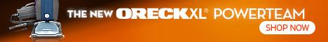 Free Shipping on Oreck XL