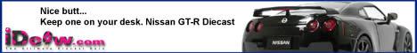 Nissan GT-R diecast model car
