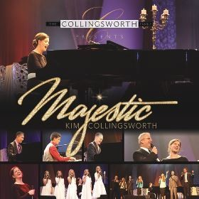 Majestic, cd, Kim Collingsworth, christian music
