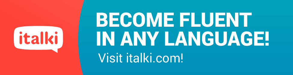 Become fluent in any language! italki.com