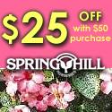 Save $25 @ Spring Hill Nursery Online