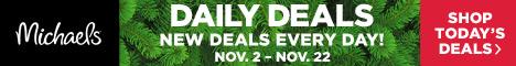 21 Days of Deals- Nov. 2- Nov. 22
