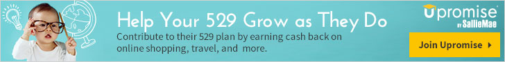 Help your 529 grow as they do. Join Upromise now.